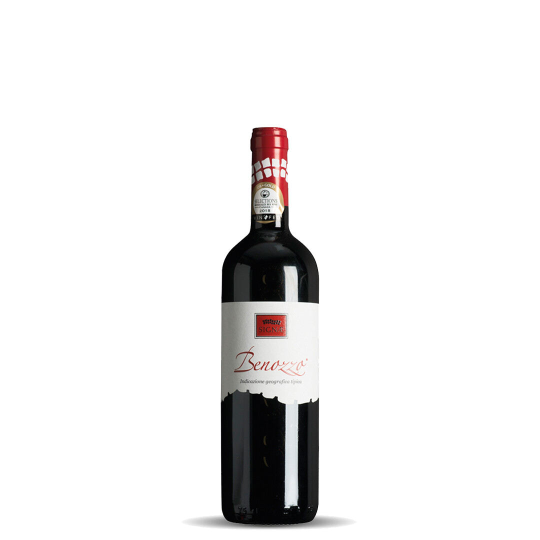 Benozzo IGT Umbria Red Wine 2015 - 6 bottles 0,75lt