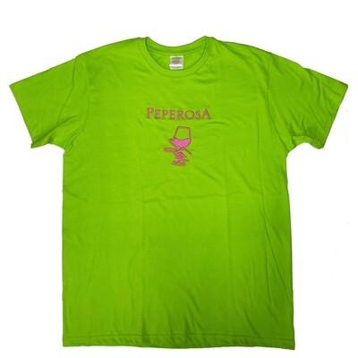 T-shirt glass Peperosa