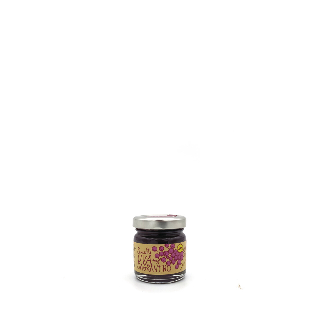 100% Sagrantino Organic Grape Jam 40gr