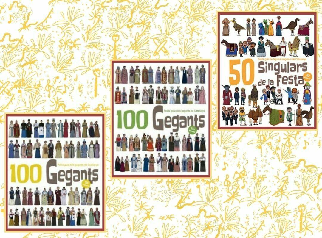 """Llibres """"Figures de la Festa"""" - 100 Gegants; 50 Dracs; 50 Singulars de la Festa"""
