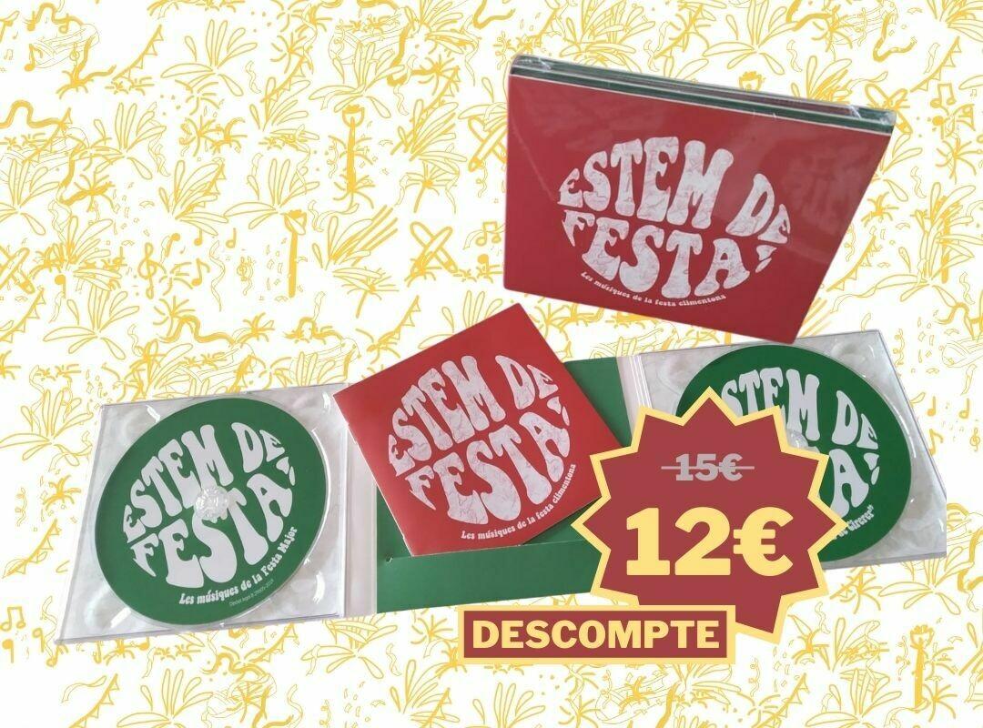 CD Estem de Festa! Les músiques de la festa climentona