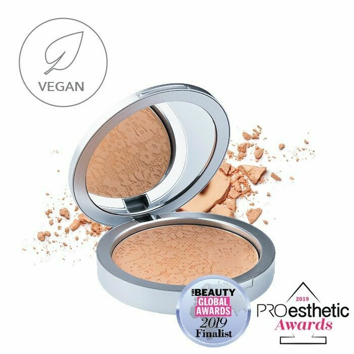 Natural Velvet Mineral Powder Foundation SPF15 - Dark Cashew