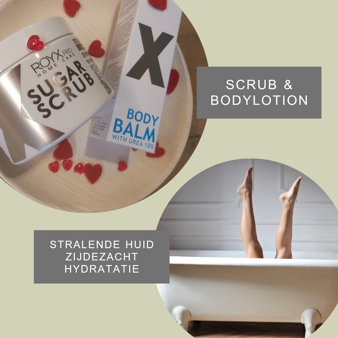 Suikerscrub & Bodylotion