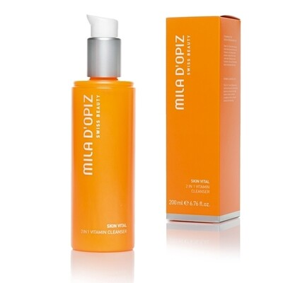 Skin Vital 2-in1 reinigingsmelk 200ml