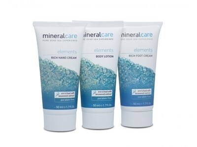 Mineral Care set by Dead Sea Minerals 3x50ml