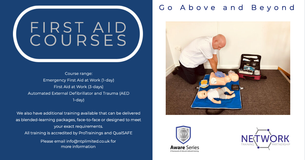 First Aid at Work (3-days)
