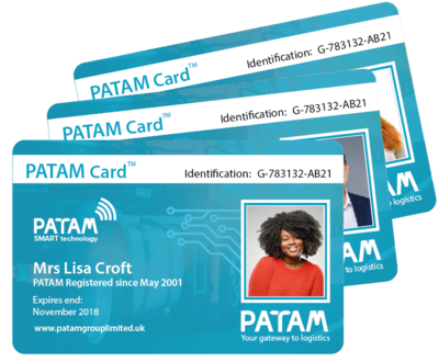 Register for Your PATAM Card