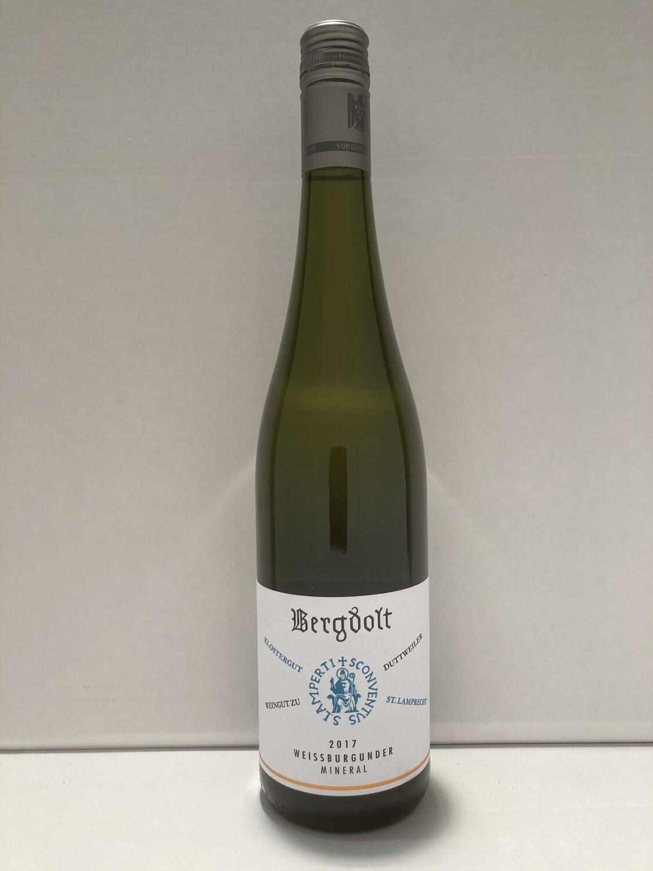 Pinot Blanc-2017 droog Mineral Bergdolt (Pfalz)