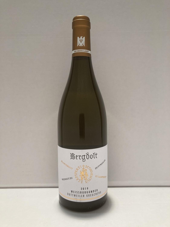 Pinot Blanc-2019 droog Duttweiler Kreuzberg Bergdolt (Pfalz)