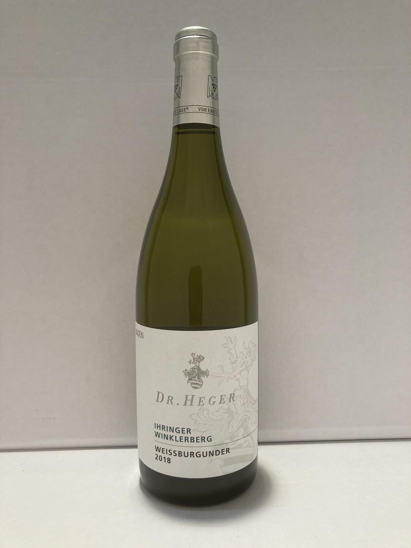 Pinot blanc-Erste Lage-2018 droog Ihringen Winklerberg Dr. Heger (Baden)