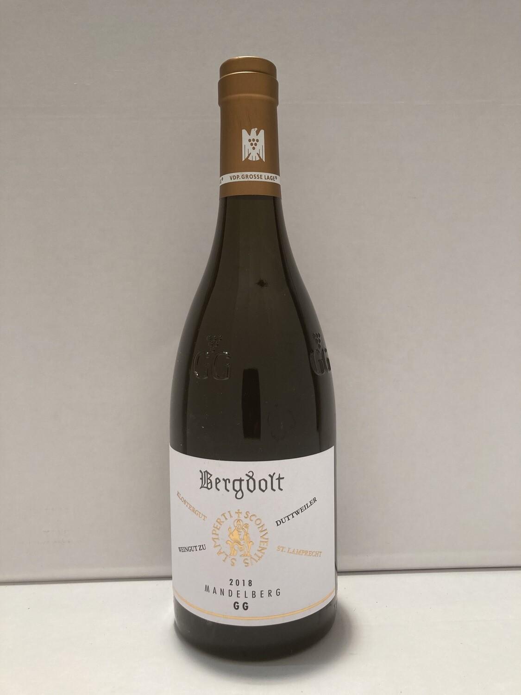 Pinot Blanc-Grosses Gewächs-2018 droog Kirrweiler Mandelberg  Bergdolt (Pfalz)