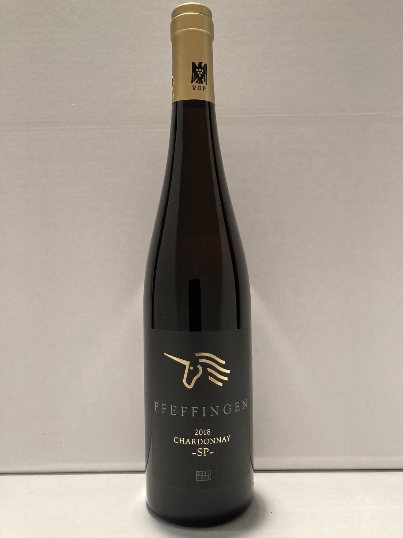 Chardonnay-2018 droog SP Pfeffingen (Pfalz)