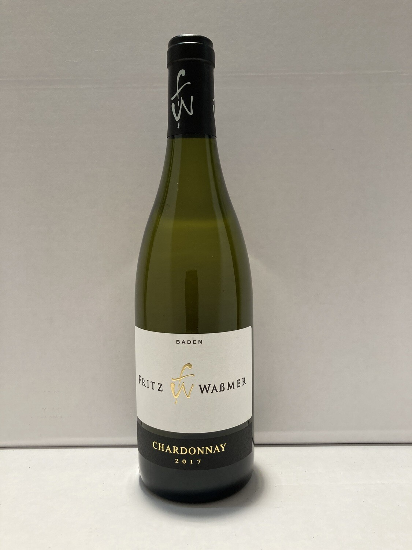 Chardonnay-2017 droog Premium Fritz Wassmer (Baden)