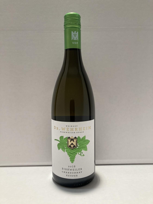 Chardonnay-2018 droog Keuper Dr. Wehrheim (Pfalz)