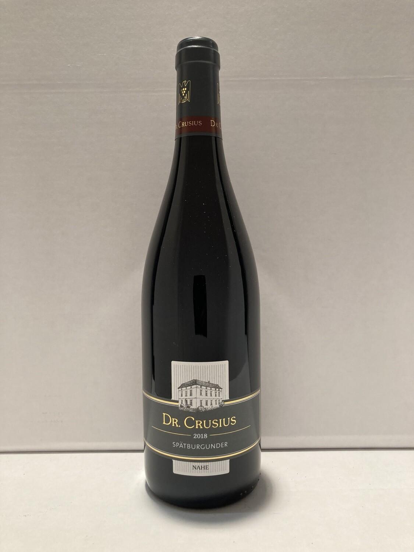 Pinot noir-2018 droog Traisen Dr. Crusius (Nahe)