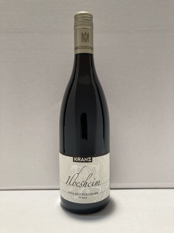 Pinot noir-2016 droog Ilbesheim  Kranz (Pfalz)