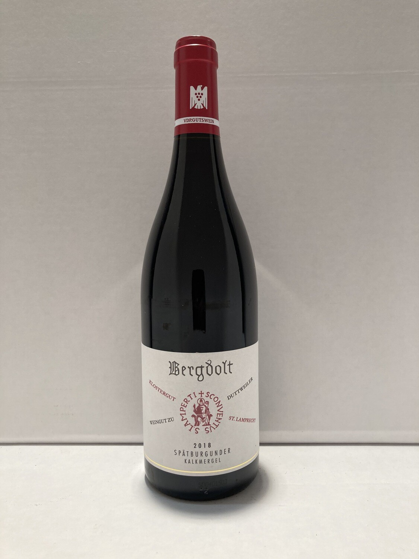 Pinot noir-2018 droog Kalkmergel-Bergdolt (Pfalz)