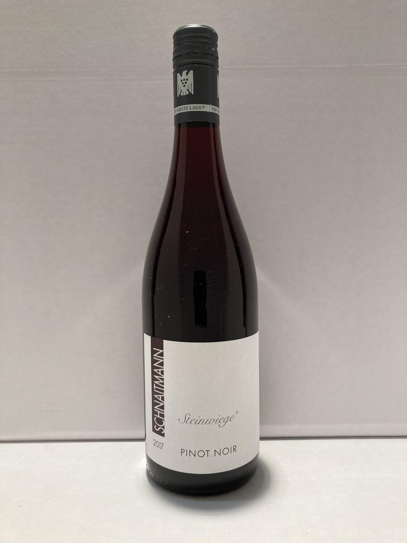 Pinot noir-2017 droog Steinwiege Schnaitmann (Württemberg)