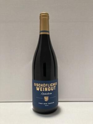Pinot noir-2013 droog Rüdesheim Bischöfliches Weingut