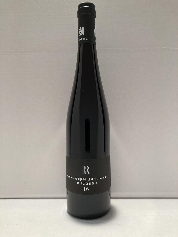 Pinot Noir-2016 droog  Muschelkalk  Rebholz (Pfalz)