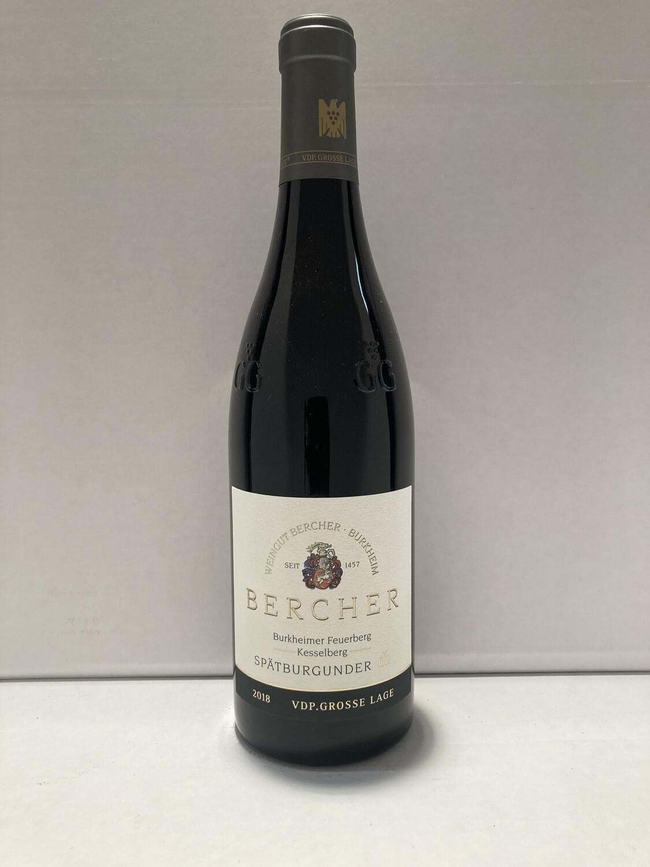 """Pinot noir-Grosses Gewächs-2018 droog Burkheim Feuerberg """"Kesselberg"""" Bercher (Baden)"""