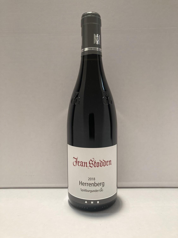 Pinot Noir-Grosses Gewächs-2018 droog  Rech Herrenberg Jean Stodden (Ahr)
