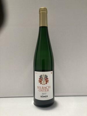 Riesling-Bömer-2017 droog  Zeltingen Schlossberg Selbach Oster