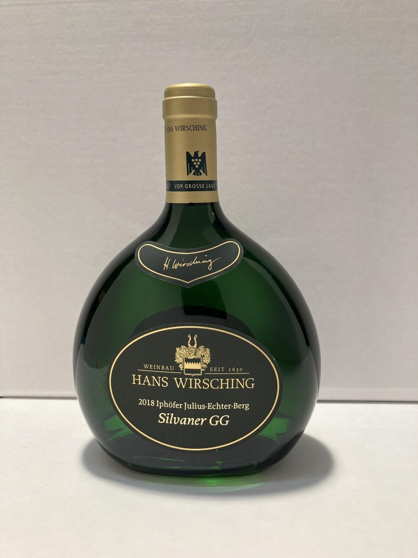 Silvaner-Grosses Gewächs-2018 droog Iphofen Julius Echter Berg Hans Wirsching (Franken)