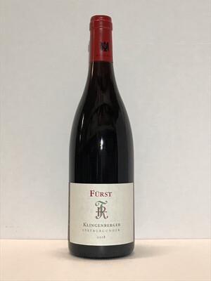 Pinot noir-2018 droog Klingenberger-Fürst (Franken)