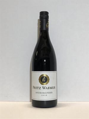 Pinot noir-2018 droog  Estate-Fritz Wassmer (Baden)