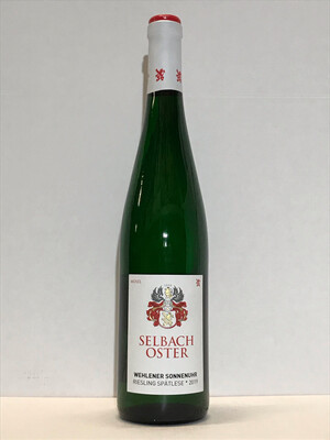 Riesling-Spätlese*-2019  Wehlen Sonnenuhr Selbach Oster (Mosel)