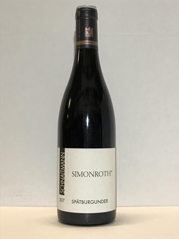 Pinot noir-2017 droog Simonroth-Schnaitmann (Württemberg)