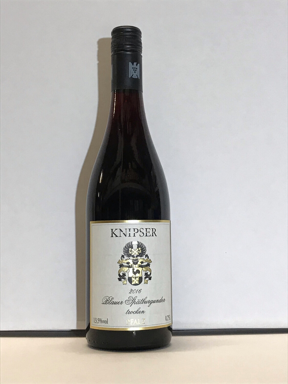 Pinot Noir-2017 droog  Knipser (Pfalz)