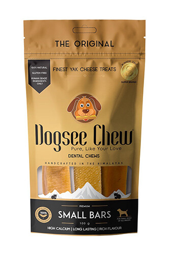 Dogsee Chew SMALL BARS 100 g.