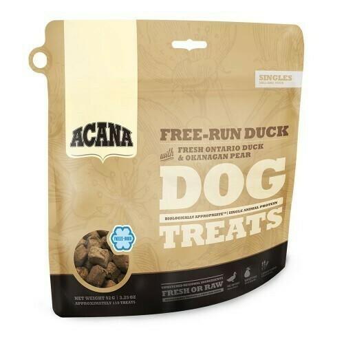 Acana SINGLES TREATS Free-Run Duck