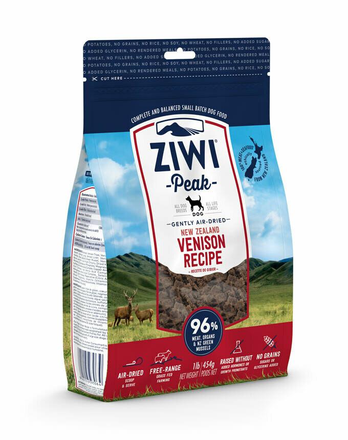 ZIWI Peak Dog Gently Air-Dried Hert
