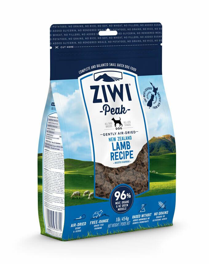 ZIWI Peak Dog Gently Air-Dried Lamb