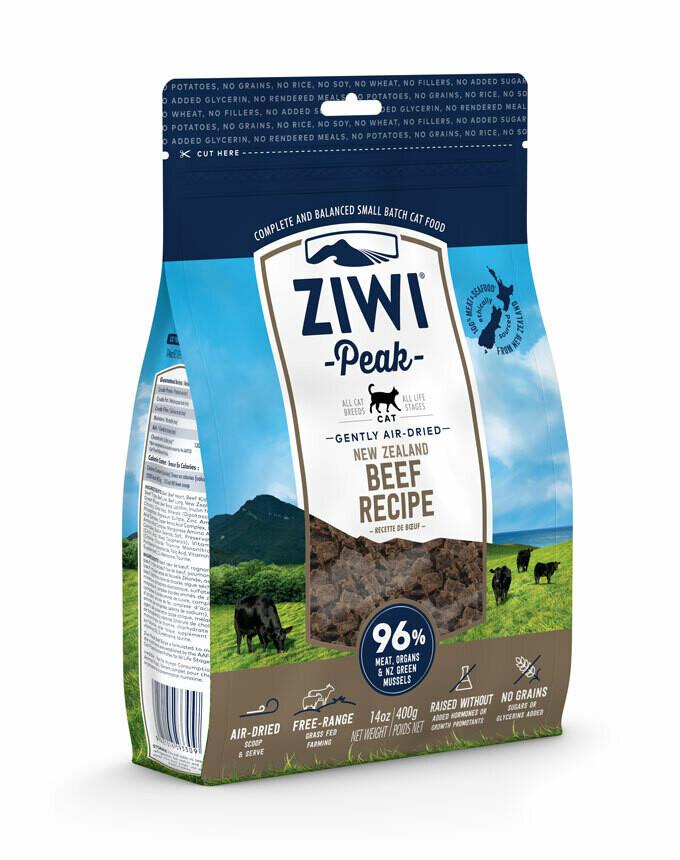 ZIWI Peak Cat Gently Air-Dried Beef