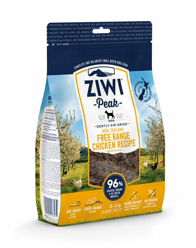 ZIWI Peak Dog Gently Air-Dried Kip
