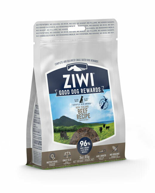 Ziwi Peak trainingssnacks rund 85 g