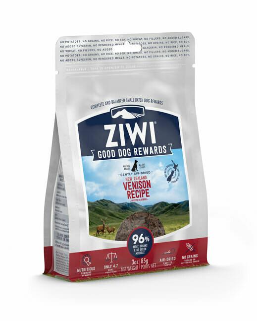 Ziwi Peak trainingssnacks hert 85 g