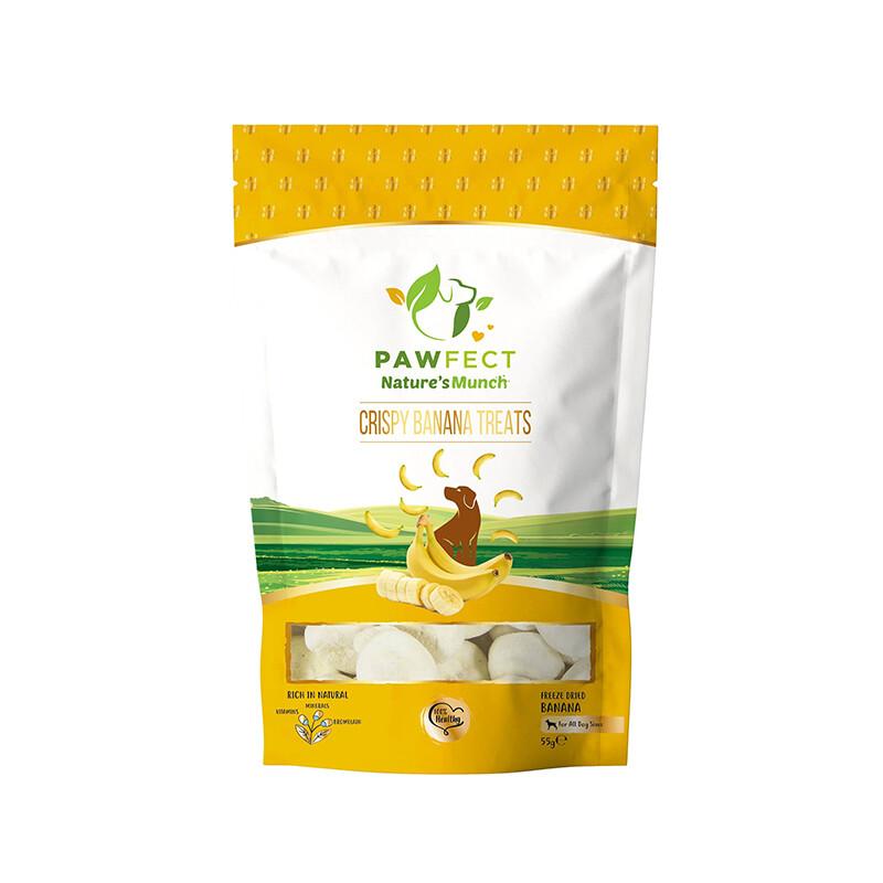 Pawfect Nature's Munch - Banana 55 gr.