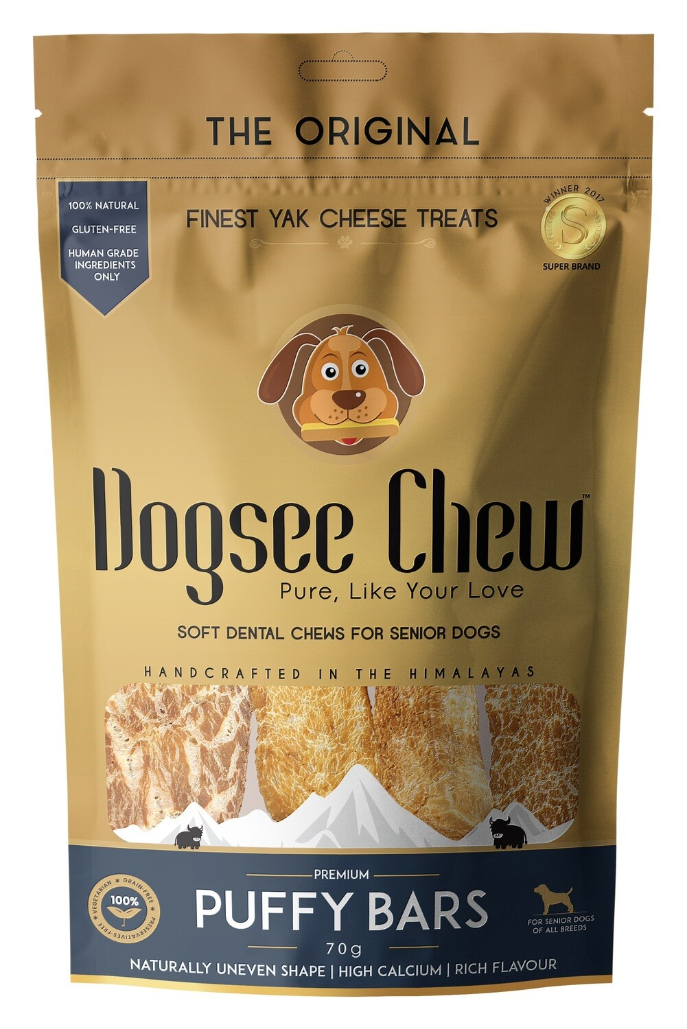 Dogsee Chew PUFFIE Bars 70 g.