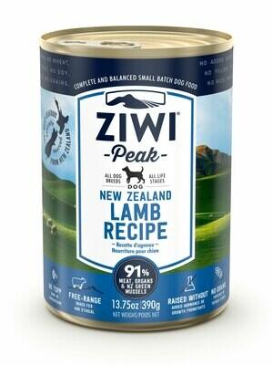 ZIWI Peak Dog Cans Lam 390 gr.
