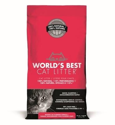 WORLDS BEST CAT LITTER Extra Strength Red