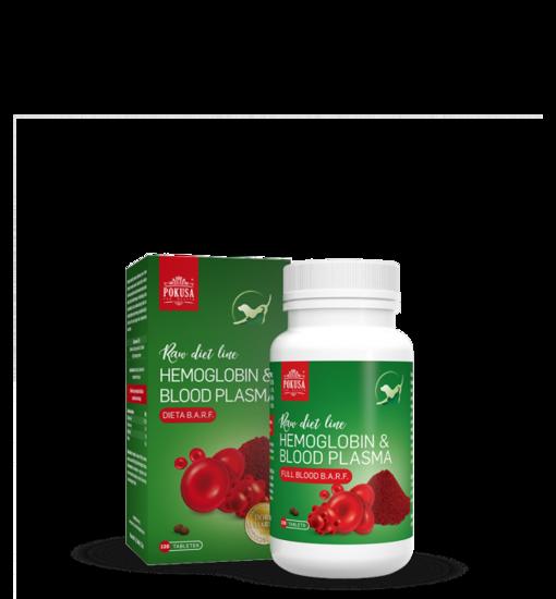 Raw Diet Line Tabs Hemoglobine & Bloodplasma