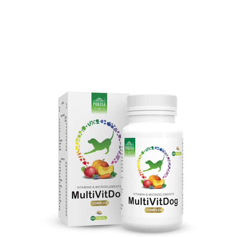 Pokusa Multivitamine Hond 120 tabletten