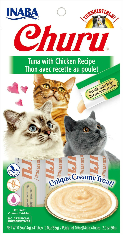 INABA CHURU CAT Tonijn met kip