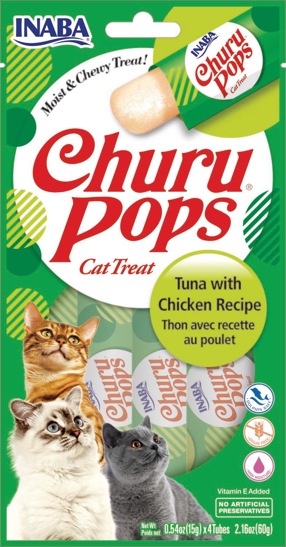 INABA POPS CAT Tonijn en kip