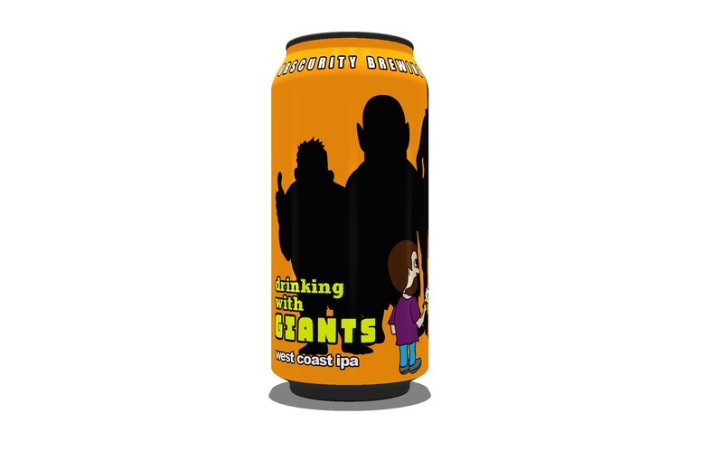 4PACK - Drinking with Giants (16oz)